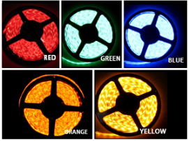 12V Single Color Light Strips