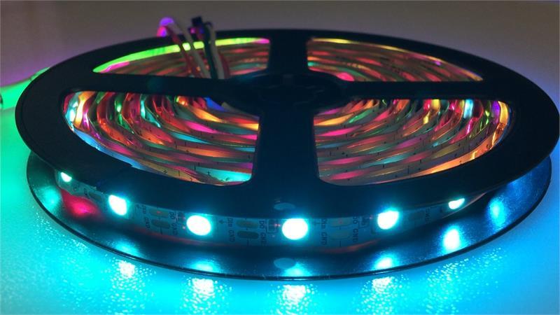 Rgbw Pixel Multi Colored Led Strip Light 5v 60 Leds M