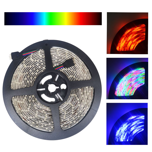 3528smd nova bright color changing rgb super bright flexible led novabright 3528 smd color changing rgb super bright flexible led light strip kit 16 ft reel kit aloadofball Image collections