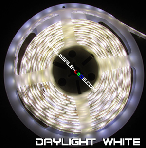 5050SMD Daylight White LED Light Strip Kit