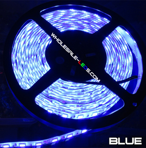 5050SMD Nova Bright Blue Super Bright LED Light Strip Kit