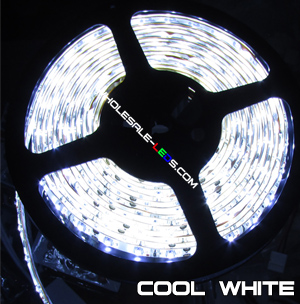5050SMD Nova Bright Cool White Super Bright LED Light Strip Kit