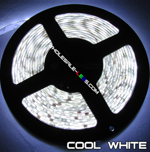 5050SMD Cool White Flexible LED Light Strip 16 Ft Reel Kit