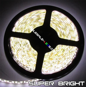 5050SMD Blue Super Bright Flexible LED Light Strip 16 Ft Reel Kit
