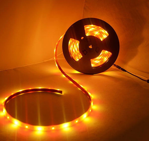 Red and gold led strip light 12v 5050smd ip68 waterproof 32 ft reel red and gold led strip light 12v 5050smd ip68 waterproof 5m reel aloadofball Gallery