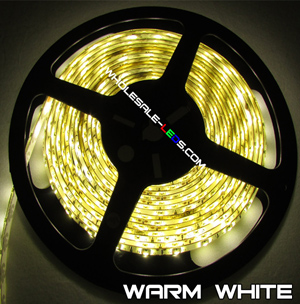5050SMD Warm White Flexible LED Light Strip 16 Ft 150 LED Kit