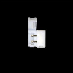 5050 SMD 10MM Inline Snap On Square Connector Single Color Reels - No Wires
