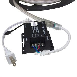 110V RGB LED Strip Controller with 44 Key Remote 110V-RGB-CTR