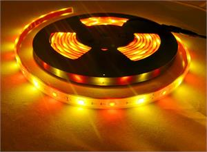 Red and Gold LED Strip Light 12V 5050SMD IP68 Waterproof 5M Reel