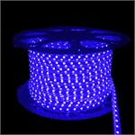 NovaBright 5050SMD Super Bright Blue 300 LED 110V 160ft Re