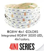 4 in 1 Chip RGBW LED Strip