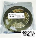 NovaBright 12V UL Approved 5050SMD LED Strip Light White 6000K IP20 Kit