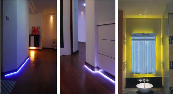 Novabright 5050smd rgbw 4 in 1 flexible led light strip 24v ip65 completely smooth and even light spread solving the uneven luminous problem ultra bright but running at low temperature self adhesive back with 3m aloadofball Gallery