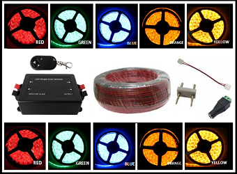 Single Color LED Strip Accessories