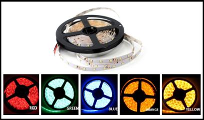 5050 Single Color LED Reel Only