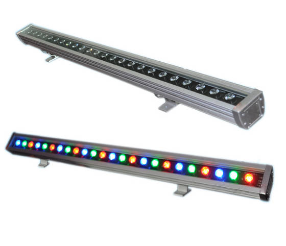 18 Amazing Led Strip Lighting Ideas For Your Next Project: Nova Bright 36W RGB Linkable LED Wall Washer Architectural
