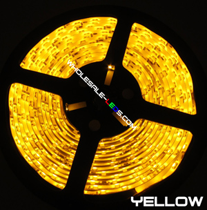 5050SMD Nova Bright Yellow Super Bright LED Light Strip Kit