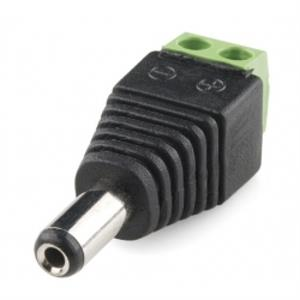Male DC Power adapter for Single Color LED Reels