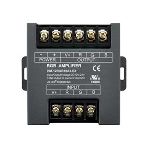 12V DC-24V RGB LED Amplifier Power Repeater Controller