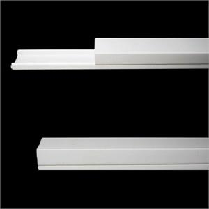 1 Meter Plastic Track for Window LED Modules with Cover