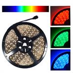 NovaBright Weatherproof 12V UL Approved 5050SMD LED Strip Light RGB IP65 Reel Only